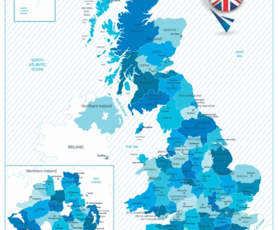 List UK LinkedIn Locations by Region
